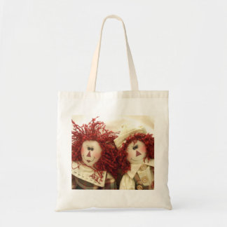 Raggedy Dolls Tote Bag
