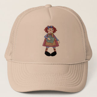 Raggedy May Trucker Hat