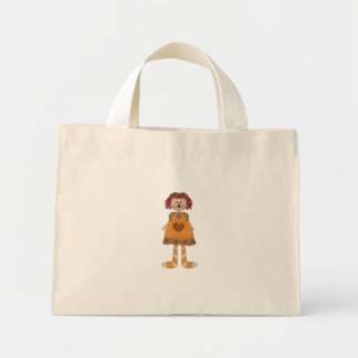 Raggedy Mini Tote Bag