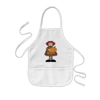 Raggedy October Kids' Apron