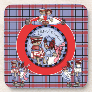 Raggedy Treasures Coasters