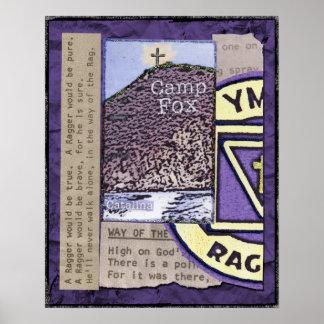 Raggers: Pico de las biblias con el emblema y las  Póster