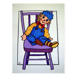 Raggy Andy Postcard