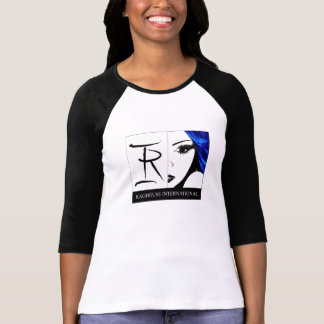 Raghouse International Logo T Shirt Black and Whit