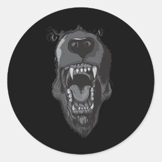 Raging Bear Sticker