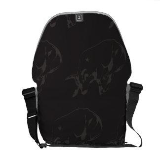 Raging Bull Dark Courier Bag