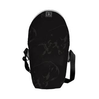 Raging Bull Dark Messenger Bag