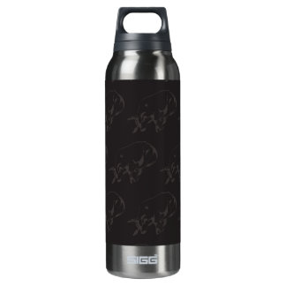 Raging Bull Dark 16 Oz Insulated SIGG Thermos Water Bottle