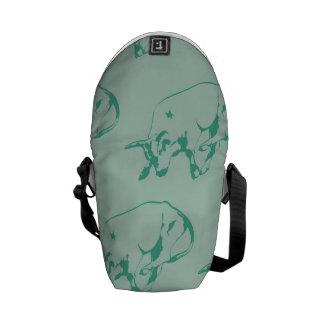 Raging Bull Greens Messenger Bag