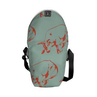 Raging Bull Orange Mint Courier Bag