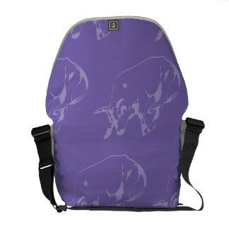 Raging Bull Purples Messenger Bags