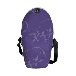 Raging Bull Purples Courier Bag