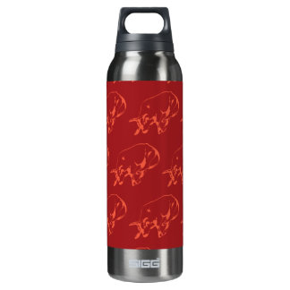 Raging Bull Reds 16 Oz Insulated SIGG Thermos Water Bottle