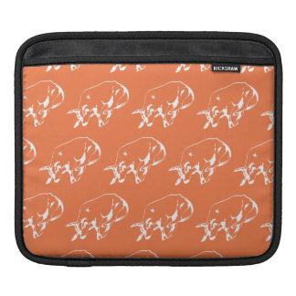 Raging Bull White Orange Sleeve For iPads