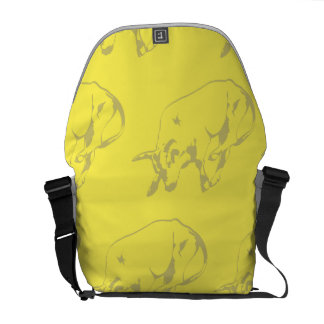 Raging Bull Yellows Courier Bags