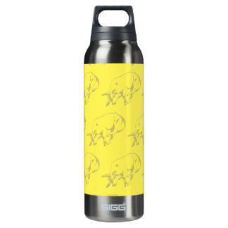 Raging Bull Yellows 16 Oz Insulated SIGG Thermos Water Bottle