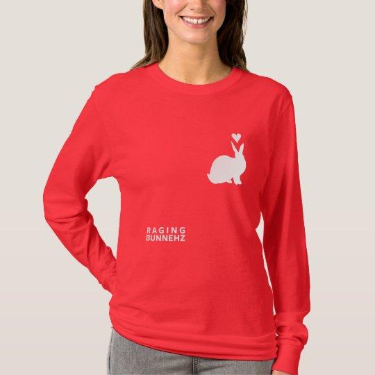 RAGING BUNNEHZ Book Cover T-Shirt