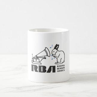 RAGING BUNNY ABIDES COFFEE MUG