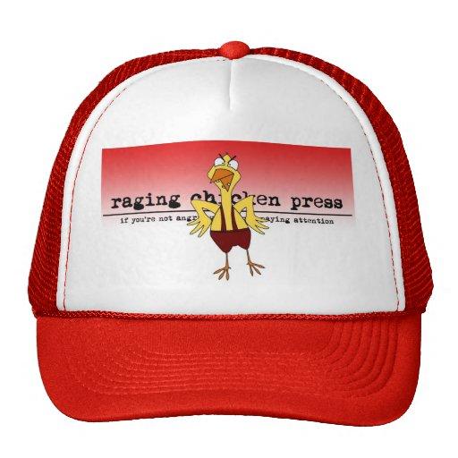 Raging Chicken #3 trucker hat