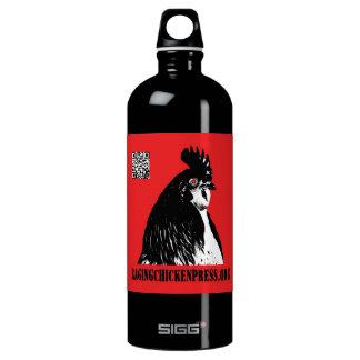 Raging Chicken Press Logo Water Bottle