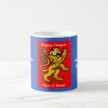Raging Cougars Mug Red/Blue