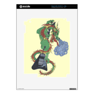Raging Dragon's New Guitar Skin For iPad 2