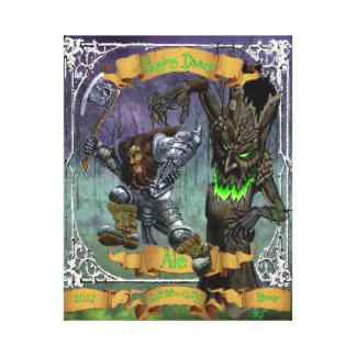 Raging Dwarf Ale Canvas Print