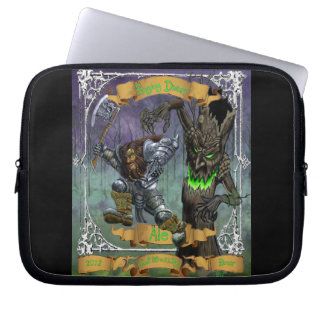 Raging Dwarf Ale Laptop Computer Sleeve