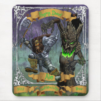 Raging Dwarf Ale Mouse Pad