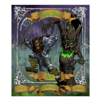 Raging Dwarf Ale Print