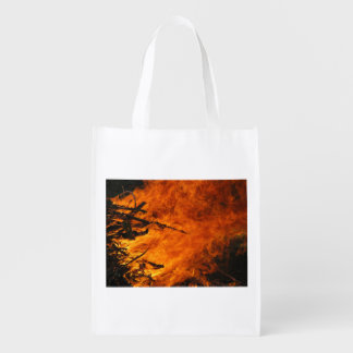 Raging Fire Grocery Bags