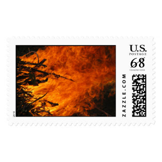 Raging Fire – Large stamp