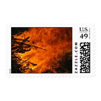 Raging Fire – Medium stamp