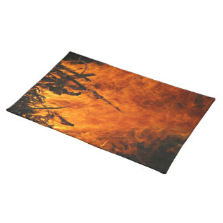 Raging Fire Placemat