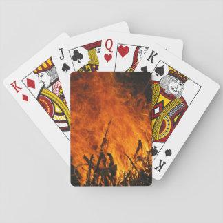 Raging Fire Poker Deck