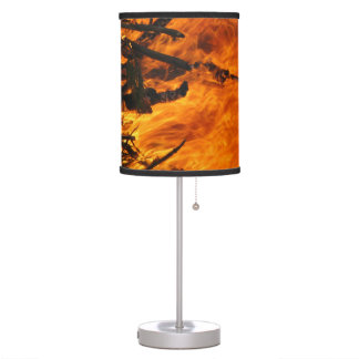 Raging Fire Table Lamp