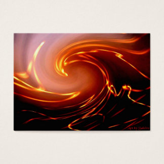 Raging Flame Business Card