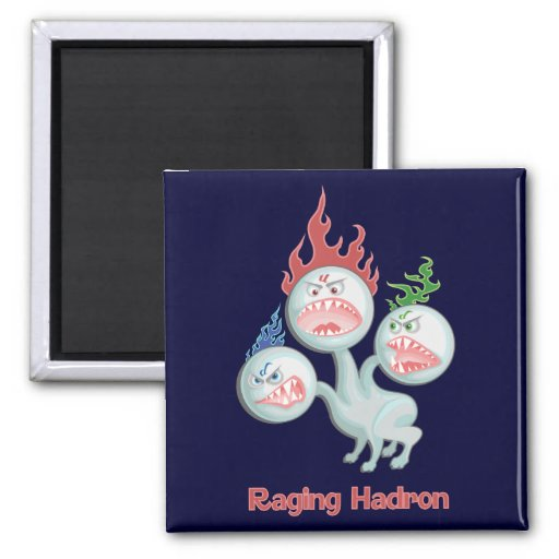 Raging Hadron 2 Inch Square Magnet