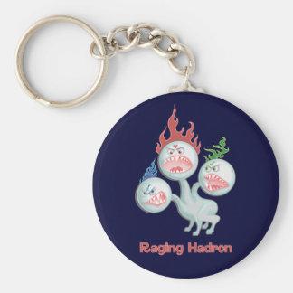 Raging Hadron Basic Round Button Keychain