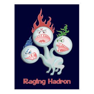 Raging Hadron Postcard