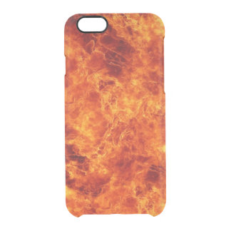Raging Inferno Uncommon Clearly™ Deflector iPhone 6 Case