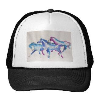 Raging Mustangs in Pastel Trucker Hat