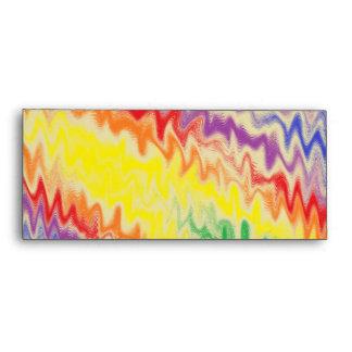 Raging Rainbow Fire Lines Envelope