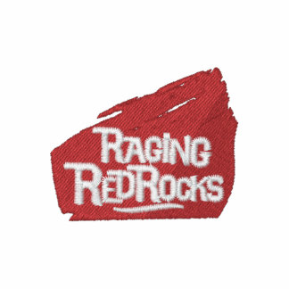 Raging Red Rocks Embroidered Shirt
