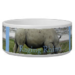 Raging Rhino Dog Bowls