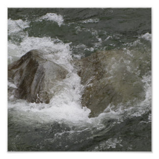 Raging River Canvas Print