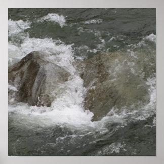 Raging River (Framed) Poster