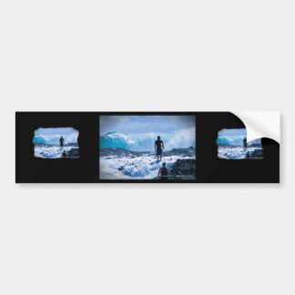 Raging Seas Bumper Sticker