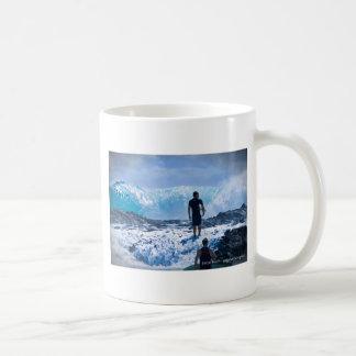 Raging Seas Classic White Coffee Mug