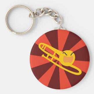 Raging Trombone Keychain
